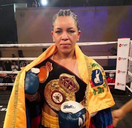 The Law was imposed in Mexico: Eva Guzman is the new WBA Interim Flyweight Champion