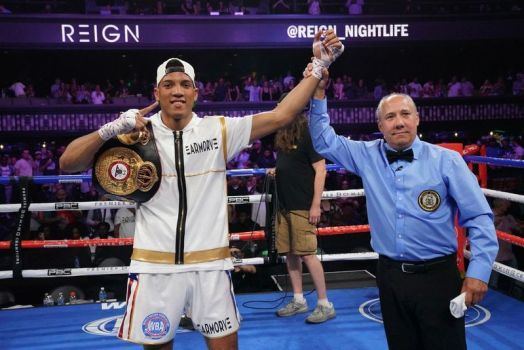 Morrell defended his WBA championship with a big knockout over Cazares