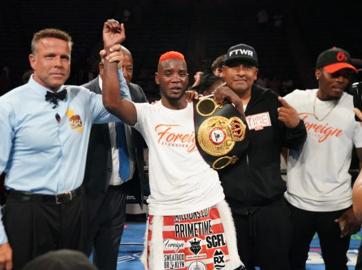 Colbert dominated Nyambayar to retain his WBA belt at Carson