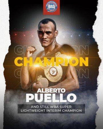 Puello dominated Rubio and retained his WBA interim title in Santo Domingo