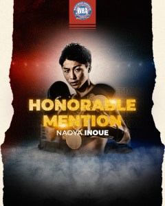 WBA Honorable Mention