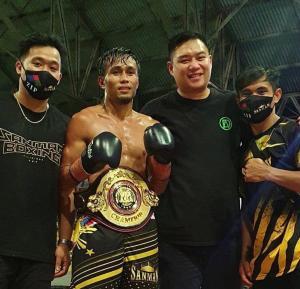 Apolinaro is the new WBA Asian flyweight champion