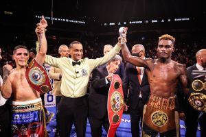 Charlo drew with Castaño and retained his WBA Super Championship