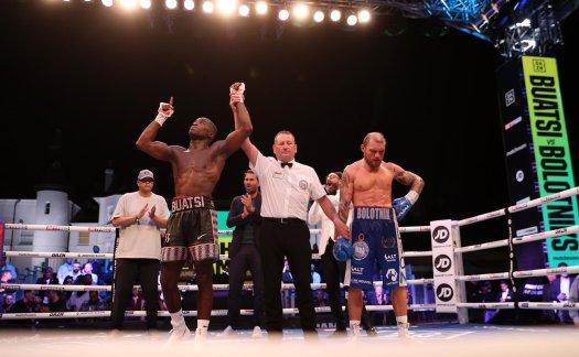 Buatsi demolished Bolotniks in WBA title eliminator