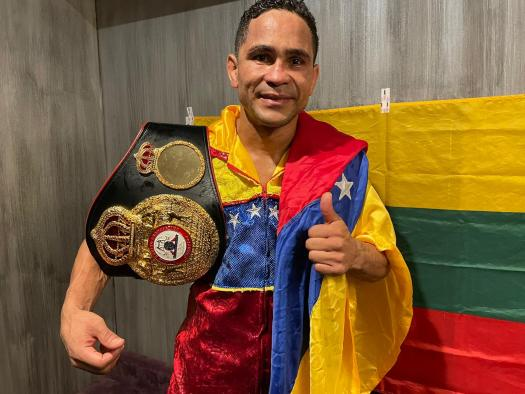 Maestre defeated Fox and is the new WBA Interim Champion
