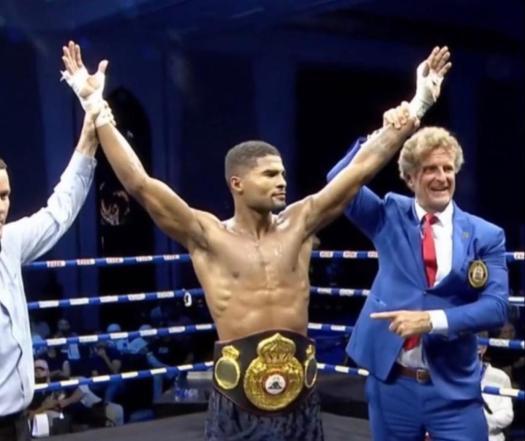Sims Jr. demolished Perez to win the WBA Inter-Continental belt in Dubai