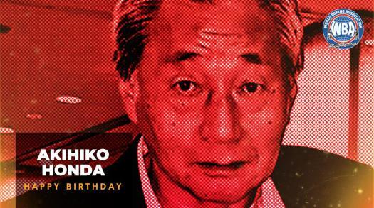 Felicidades a Akihiko Honda