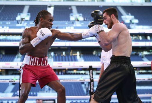 Ousley won the WBA Intercontinental belt Saturday in London