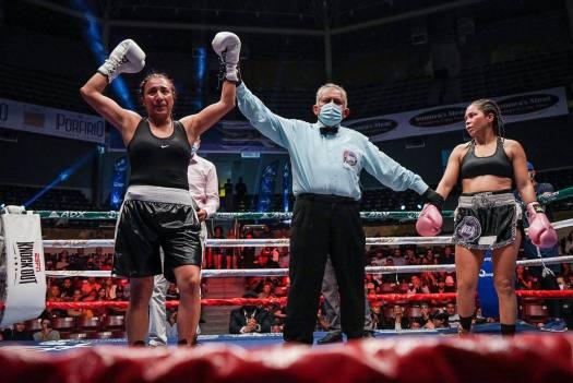 Ramos surprised Palmera and won the WBA Fedelatin belt