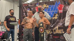 Aragon Vega and Torres ready and on weight in Mexico City