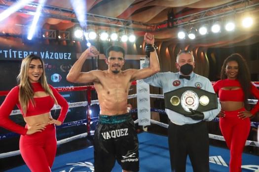 Miguel Vazquez, new WBA-Fedelatin Lightweight champion