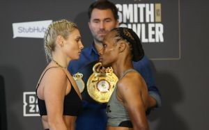 Courtenay failed to make the weight and only Mitchell will challenge for WBA title