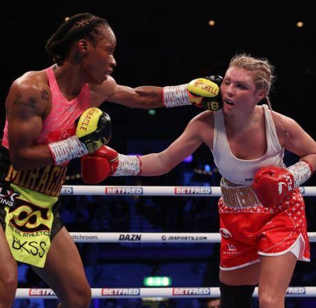 Jamie Mitchell is the new WBA women's bantamweight champion