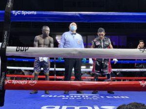 Beamon won the WBA-Fedecaribe belt over Farfan