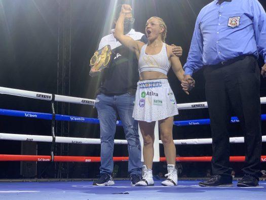 Bopp retained her WBA world title in Barranquilla