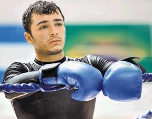 Bryan Vasquez WBA Super Featherweight Interim Champion