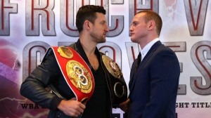George Groves is looking to take Carl Froch's WBA and IBF titles