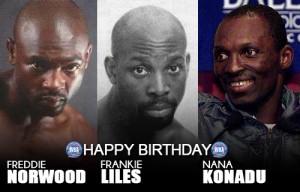 Happy birthday Liles, Konadu and Norwood
