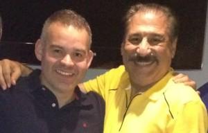 Gilberto Jesús Mendoza y Rubén García