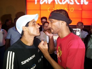 Moreno y Chacón en peso