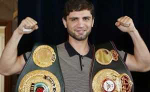 Khabib Allakhverdiev WBA Super Lightweight Champion