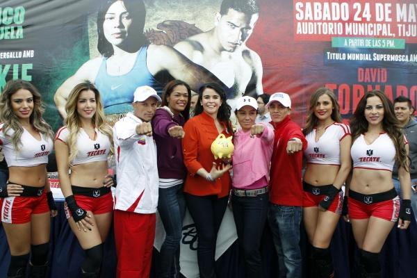 Conferencia de prensa en Tijuana