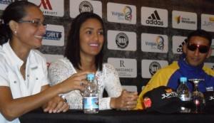 Ogleidis Suárez - Calista Silgado Conferencia de prensa