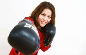 Linda Lecca, campeona mundial de boxeo