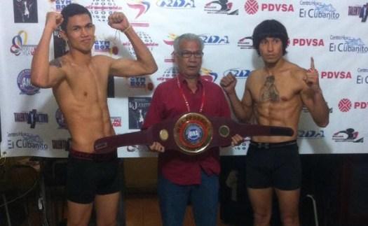 Frank Rojas - Arvey Montes weighin