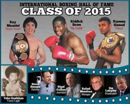 The International Boxing Hall of Fame Inductees 2015