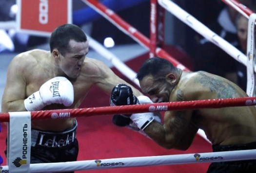 Congratulations to Denis Lebedev for unifying the WBA/IBF cruiserweight world titles. (AP Photo/Alexander Zemlianchenko)