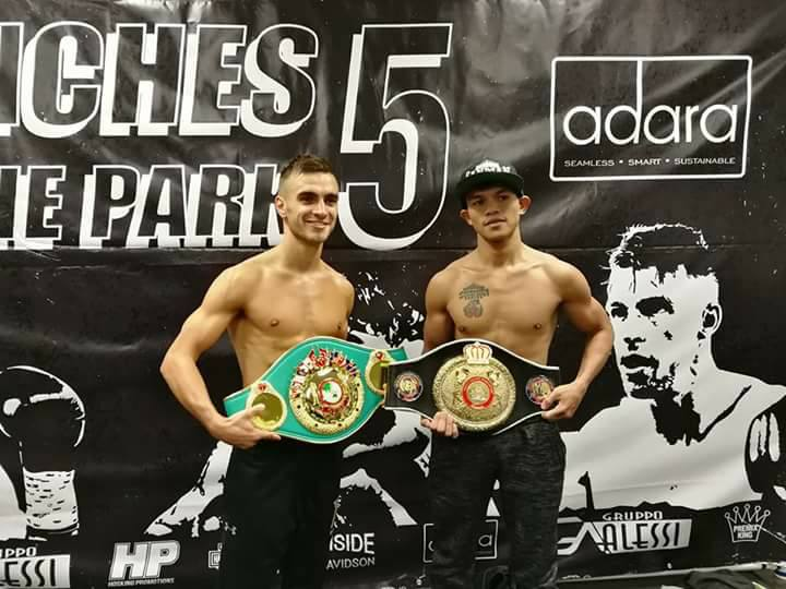 Fighters Make Weight for Melbourne Showdown.