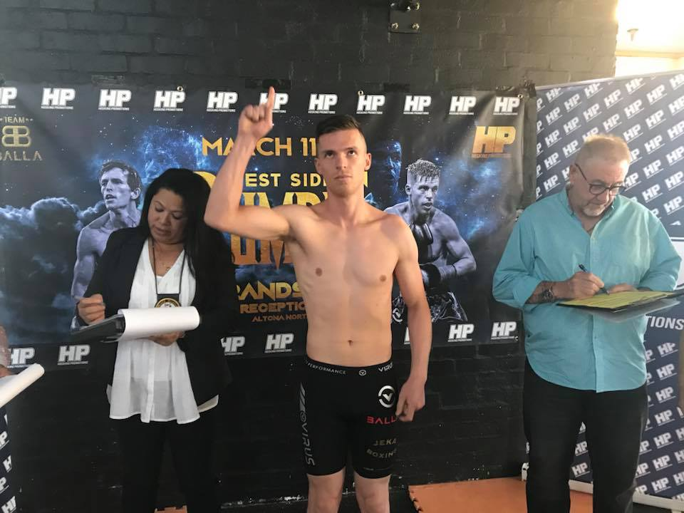 Boys Weigh-in