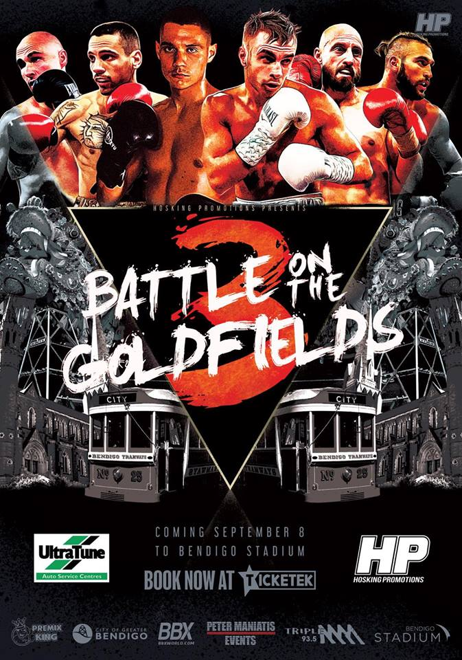 Hoskings Promotions Presents…Battle on the Goldfields