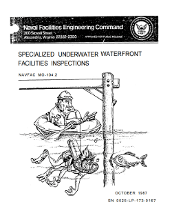 MO-104.2 Specialized Underwater Waterfront Facilities