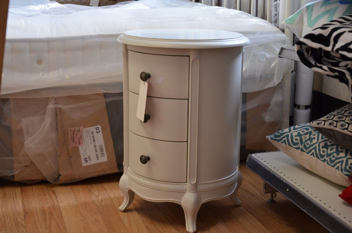 Chantilly Drum Bedside Table