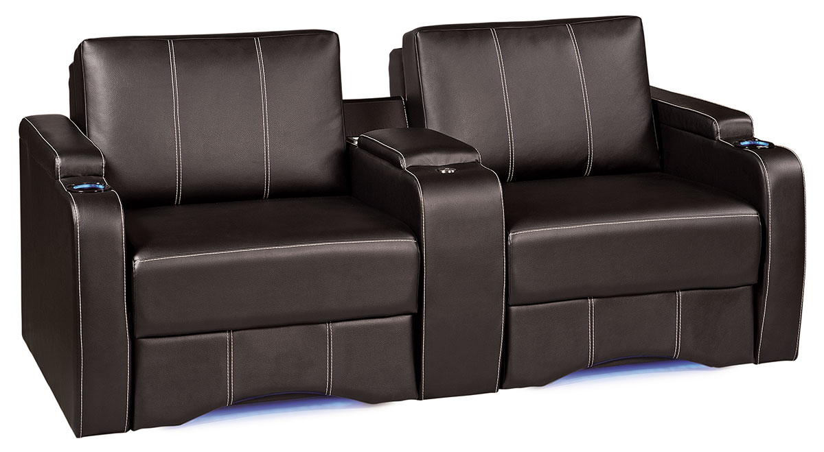 sherrill furniture sectional sofas sofa wedge table home theater sleeper cinema couches - thesofa