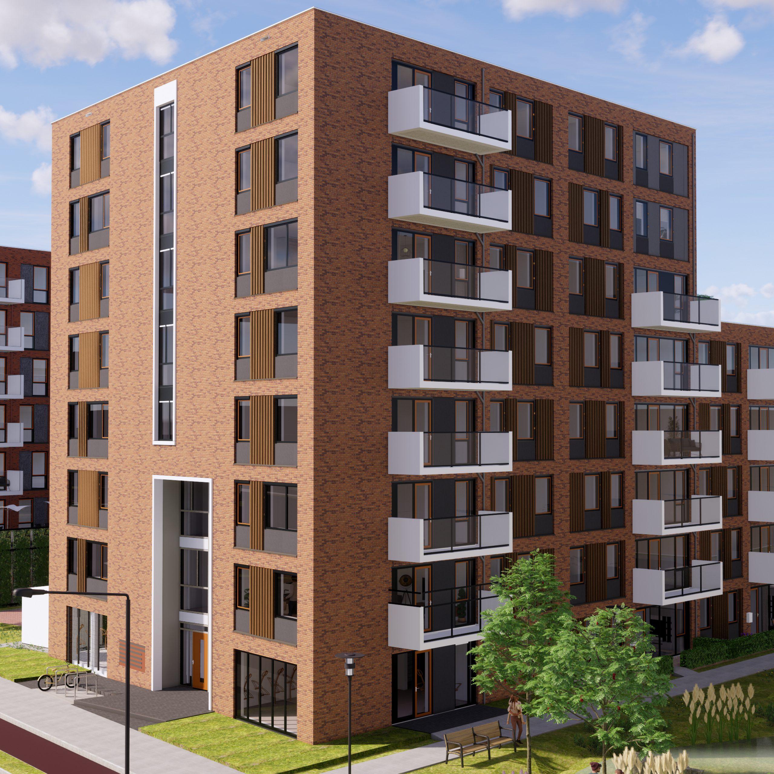 — In Opdracht — 47 Appartementen De Snip Bolderman te Veenendaal