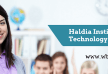 Haldia institute of technology-www.wbjee.co.in