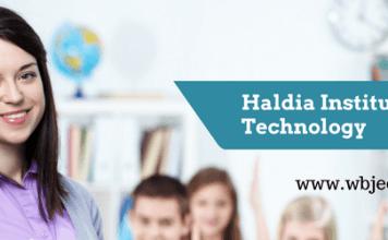 Haldia institute of technology-www.wbjee.co.in