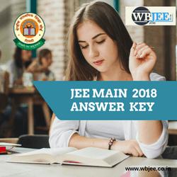 JEE MAIN 2018 ,ANSWER KEY- WBJEE.CO.IN