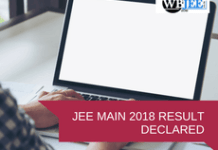 jee main results declared-www.wbjee.co.in