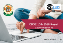 CBSE 1Oth RESULT-www.wbjee.co.in
