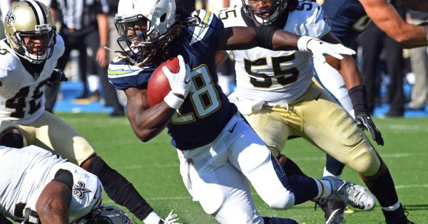 Los Angeles Chargers RB Melvin Gordon