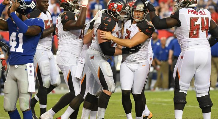 Tampa Bay Buccaneers victory over New York Giants