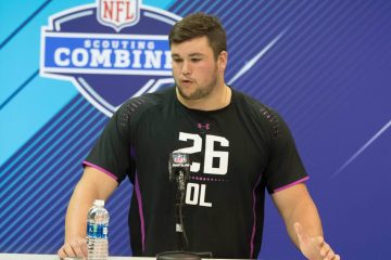 Quenton Nelson NFL Scouting Combine