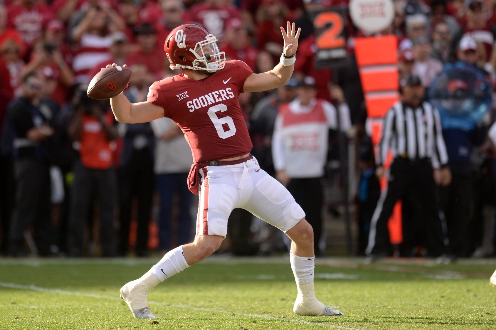 Gauging NFL draft's top six picks: Barkley, Mayfield trending up