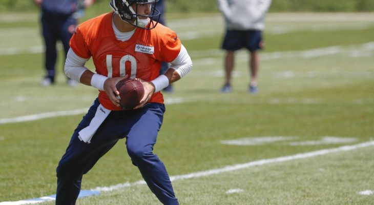 Mitchell Trubisky fantasy football Jared Goff