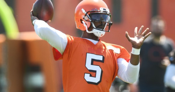 Cleveland Browns Tyrod Taylor San Francisco 49ers