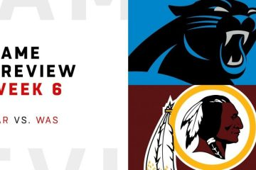 Carolina Panthers vs Washington Redskins